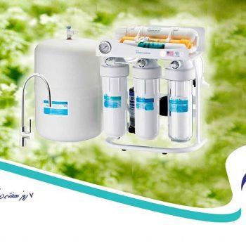 دستگاه تصفیه آب خانگی و انواع آن
